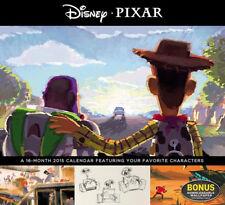 Walt Disney Pixar Movie Favorites 16 Month 2015 Wall Calendar, New Sealed