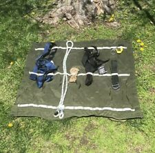 US MILITARY LEAF EXTENSION ROPE CLIMBING MOUNTAINEERING GEAR ORGANIZER MAT RACK