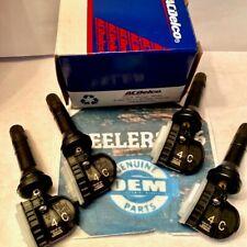 Chevrolet GMC Cadillac TPMS wheel Sensors Factory OEM 13522955 4C set 4