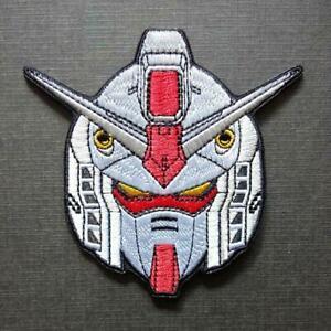Gundam RX-78 Anime Japan Robot Iron On Patch