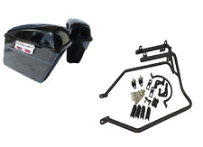 Hard FLH Style Saddlebags and Conversion Brackets for Harley Davidson Sportster