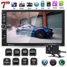 7inch 2 Din 720P HD Bluetooth Car Auto Stereo FM Radio MP5 Player with Camera