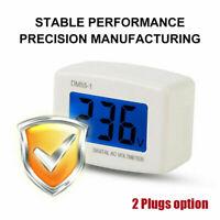DM55-1 Digital LCD Voltage Test Monitor US Plug In Volt Meter AC 80-300V D8H8