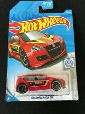 Hot Wheels-Volkswagen-Golf-Gt i-Momo-Red Color