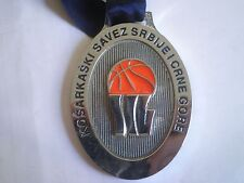 SERBIA MONTENEGRO 2006 BASKETBALL medal award STATE CUP WOMEN Ex Yugoslavia
