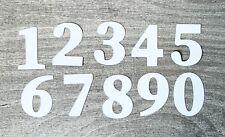 Stanzschablone/ Cutting dies Zahlen mit optionaler Herzprägung 2,4 cm, 10-teilig