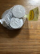 Albert Foiled Uk White Chocolate Coins In Net 75g
