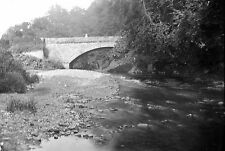 1910s KETTLEHOLM BRIDGE 2 Lockerbie Scotland Antique Photographic Glass Negative