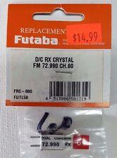Futaba # FRC-860 FUTL5860 D/C Rx Crystal FM 72.990 CH 60 72MHz Dual Conversion