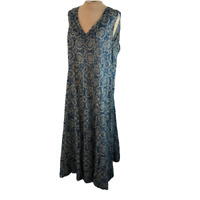 Coldwater Creek Maxi Dress Blue XXL