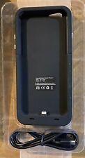 iPhone 6/6S Black External Battery Case 3800 mAh
