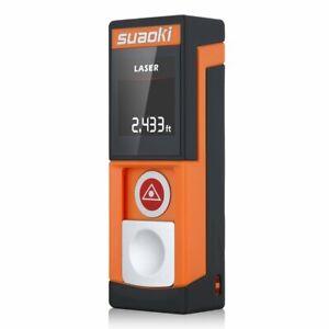 Laser Measure 20 Meter Laser Distance Meter Suaoki D5 Measurement, New
