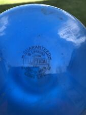 Lot of 9 Cobalt Blue 120 Watt Colored Reflector Flood Light Bulb Lamp Long Life