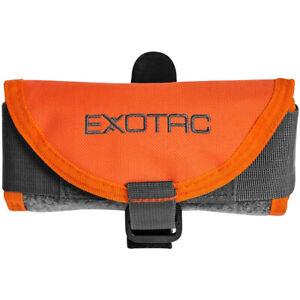 Exotac toolROLL Fire Starter Gear Carrier - Black/Orange
