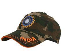 Camo Indian Cricket Team Cap Camouflage Odi T20 Test Cricket Head Wear