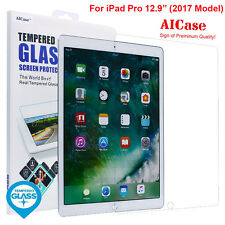 "9H Tempered Glass Screen Protector Guard For New Apple iPad Pro 12.9"" 2017 Model"