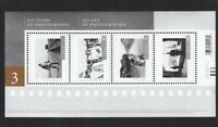 CANADIAN PHOTOGRAPHY-3 = Souvenir Sheet of 4 stamps MNH Canada 2015 #2815
