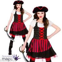 GIRLS CHILDS PRETTY PIRATE GIRL PRINCESS CARIBBEAN HALLOWEEN FANCY DRESS COSTUME