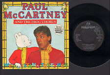 """7"""" PAUL McCARTNEY & THE FROG CHORUS WE ALL STAND TOGETHER RUPERT & THE FROG SONG"""