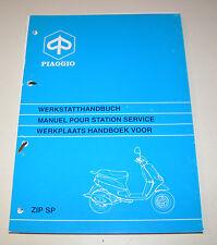 Werkstatthandbuch Motorroller Piaggio Zip SP - Stand 1996!