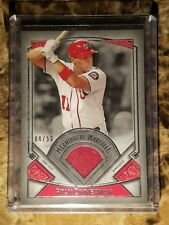 2017 Topps Museum Collection Ryan Zimmerman Meaningful Materials #/50 Relic Card