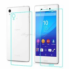 2Pcs Front Back Fullbody Tempered Glass Screen Protector For Sony Xperia M4 Aqua