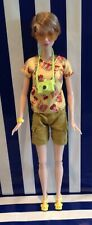 Barbie Doll Clothes Yellow Toy Story Top Cargo Shorts Sunglasses Camera & Shoes