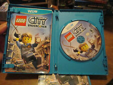 LEGO City Undercover Nintendo Wii U VIDEOGAME COMPLETE W/ MANUAL  FIRST LABEL