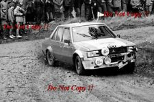 Anders Kullang Mitsubishi Lancer 2000 Turbo RAC Rally 1982 Photograph 1