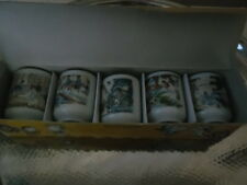 5 SAKI CUPS IN ORIGINAL BOX