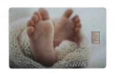 Geschenkkarte Motivkarte Silberbarren 999er Silber 1g Gramm Baby Taufe Füsse