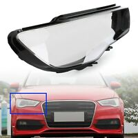 Headlight Cover Headlamp Lens Right For Audi A3 2013-2016 Clear