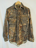 VTG USA Cabela's Men's Skyline Camo Long Sleeve Button Up Hunting Shirt Size S