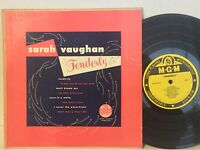 "Sarah Vaughan Tenderly EX MGM 10"" RARE!"