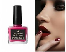 MIRENESSE Bullet Proof Nail Lacquer *Flapper Pash* Hot Pink Polish RRP$29.95 NEW