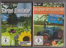 Simulatore da giardino 2010 + agro simulatore storica delle macchine agricole GIOCHI PC