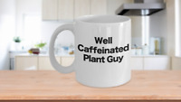 Botanist Mug White Coffee Cup Funny Gift for Biologist, Botany, Biology, Science
