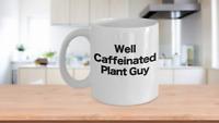 Botanist Mug White Coffee Cup Funny Gift for Biologist, Botany, Biology, Science