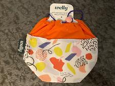 First Aid Kit Bag Welly Human Repair Fabric Draw String Bag Stash Medical E1