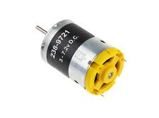 DC Motor 3 - 7.2V 19W Permanent Magnet Motors 375gcm 19000rpm 2.3mm Shaft Dia