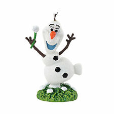 Dept 56 Disney Frozen Village Snowman Olaf In Summer Figurine 4048966 RETIRED