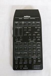 REVOX B208 FERNBEDIENUNG Remote Control für Tuner CD Phono Verstärker Tapedeck
