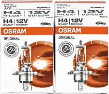 2X H4 12V 60/55W Osram Ampoule P43t Lampe Phares Halogène Poires Voiture