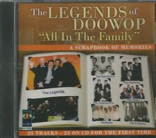 The LEGENDS of DOOWOP - CD - All In The Family - BRAND NEW