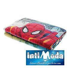 Trapuntino Caleffi Spiderman Broadway Stampa Digitale cotone primaverile estivo