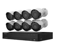 Wisenet SDH-C84085BF 8-Channel 5MP DVR Surveillance System with 2TB HDD, 8