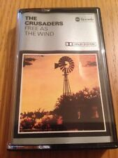 THE CRUSADERS - Free As The Wind - 1977 Cassette Tape - VG+