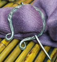 Brooch Pin Celtic Knot Pin Irish Shawl Cloak Pin Scarf Kilt Pewter Viking Pagan