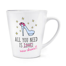 All You Need Is Love Chaussures Neuves 341ml Latte Tasse
