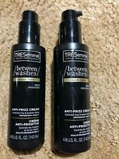 2 ~ TRESEMME ~ BETWEEN WASHES ~ ANTI-FRIZZ CREAM ~ SMOOTH RENEW 4.8 oz ea